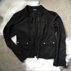 United Colors of Benetton ~ black jacket